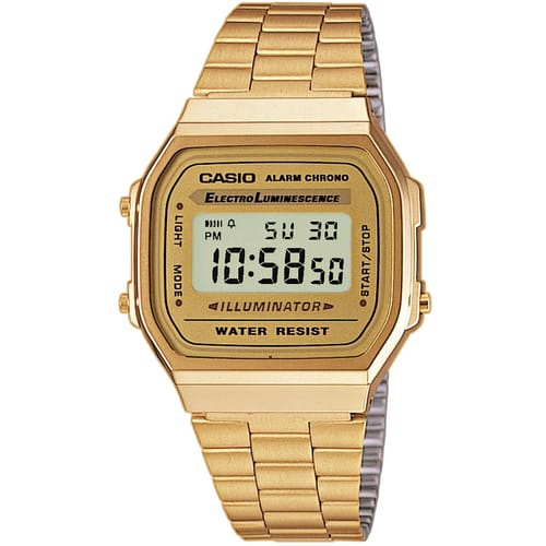 CASIO watch VINTAGE - A168WG-9EF