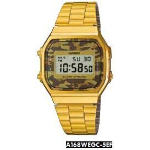Casio Watches Vintage - A168WEGC-5EF