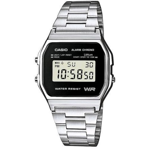 CASIO watch VINTAGE - A158WEA-1EF