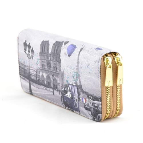 super popolare 94a34 196b8 Portafoglio Y Not? Wallet Double Zip - Parigi