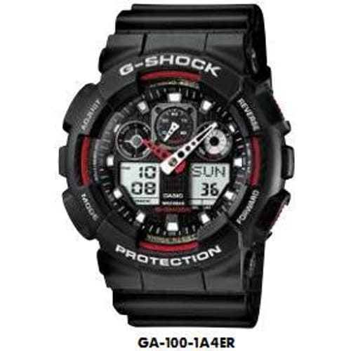 CASIO watch G-SHOCK - GA-100-1A4ER