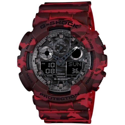 CASIO watch G-SHOCK - GA-100CM-4AER