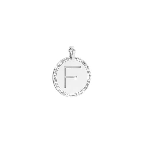 Pendente Lettera F Rebecca My World Alphabet Silver - SWRPAF56