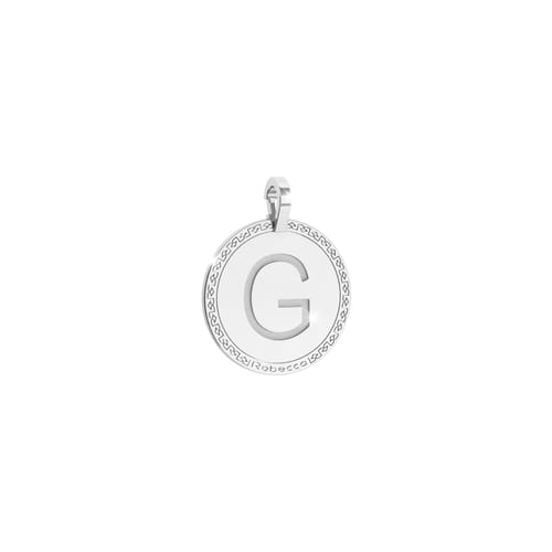 Letter G Pendant Rebecca - My World Alphabet Silver - SWRPAG57