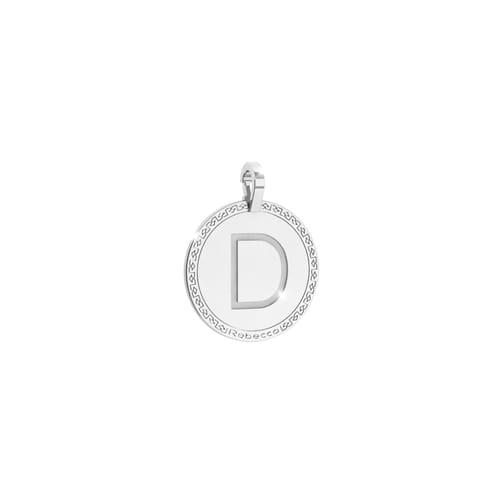 Pendente Lettera D Rebecca My World Alphabet Silver - SWRPAD54