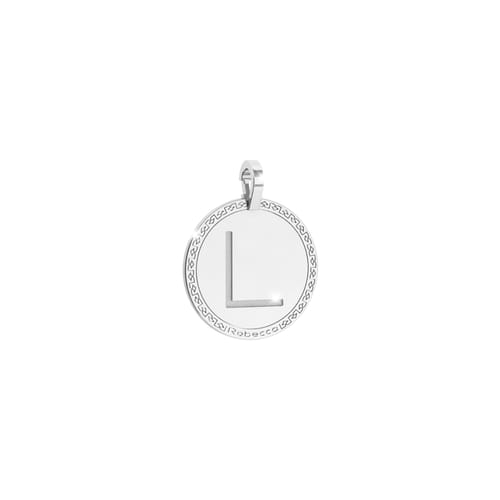 Letter L Pendant Rebecca - My World Alphabet Silver - SWRPAL62