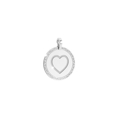 Heart Pendant Rebecca - My World Alphabet Silver - SWRPAA77