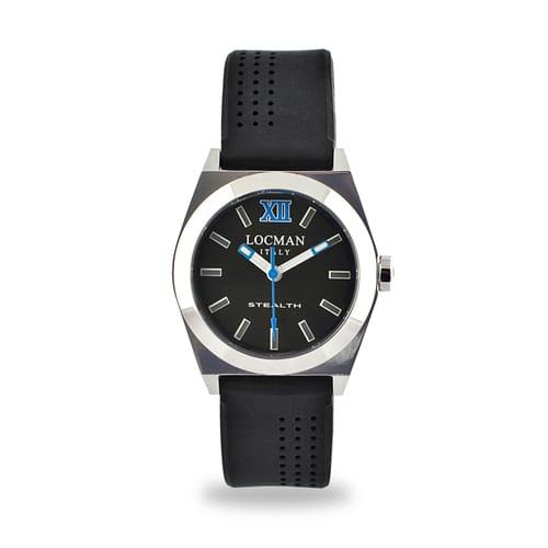 Locman Watches Stealth - 020400BKFBL0SIK