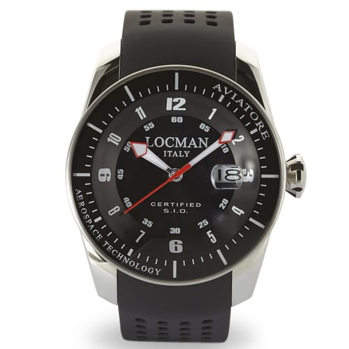 Locman Watches Aviatore - 0453V01-00BKSIK