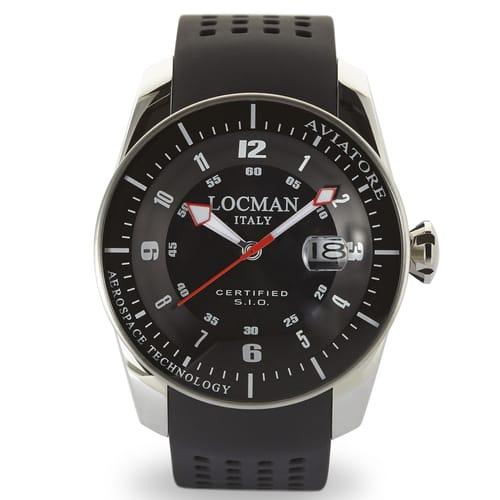 Orologio Locman Aviatore - 0453V01-00BKSIK