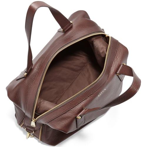 Handbag Fossil Espresso Leather