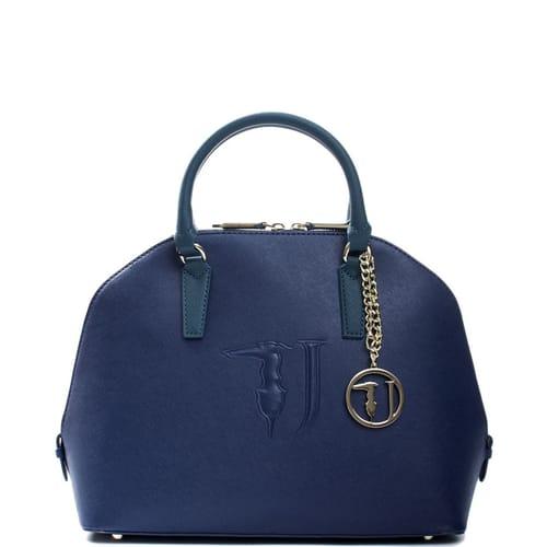 Accessori Borse Trussardi Donna Kronoshop. Borsa Trussardi Jeans Borsa a  mano Blu ... 5817e4e3d24
