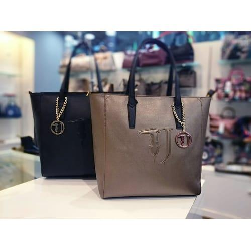 colori e suggestivi consegna veloce vendite all'ingrosso Borsa Trussardi Jeans Shopping bag Nero
