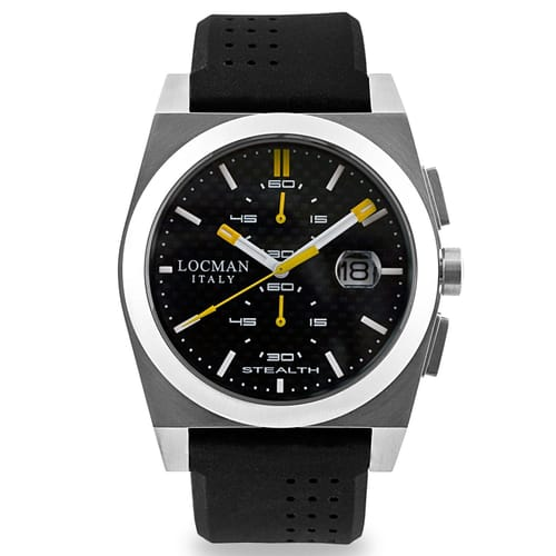 lyst watches stealth men chronograph for product black accessories locman in