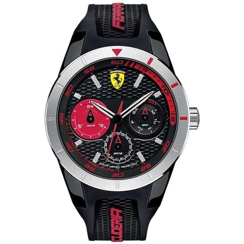 Orologio Cronografo da Uomo Ferrari FER0830254, Red Rev T 2016