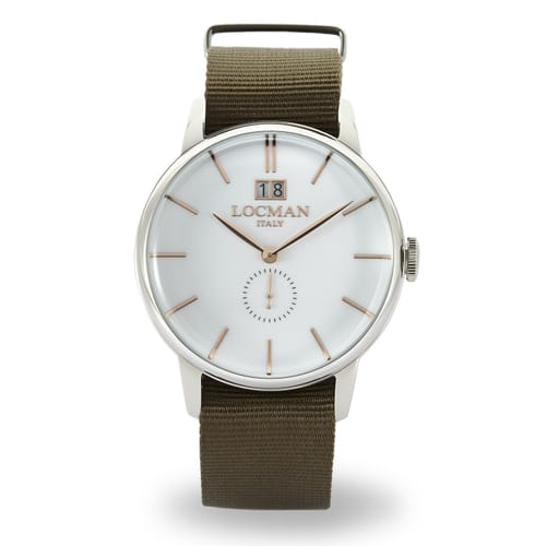 LOCMAN watch 1960 - 0252V08-00WHRGNG