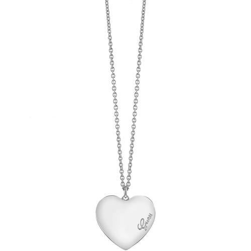NECKLACE GUESS HEARTBEAT - UBN61050