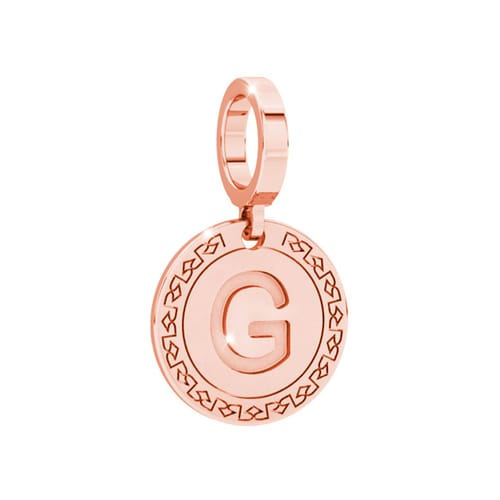 Letter G Charms collection Rebecca - My world charms - SWLPRG07