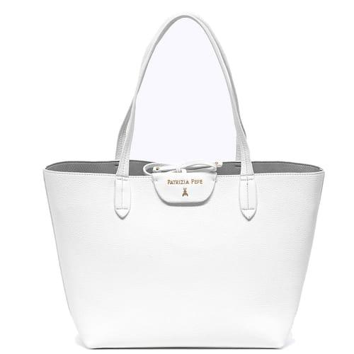 new concept 85b54 5b135 Handbag Patrizia Pepe Collection - Tote White Gray