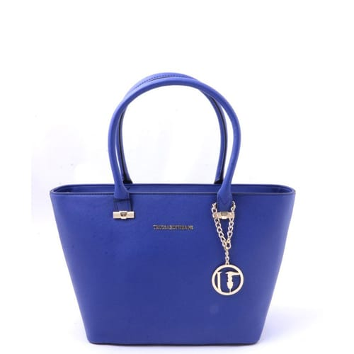 3bf494ebc8 Borsa Trussardi Jeans Shopping bag Azzurro - 75B49647