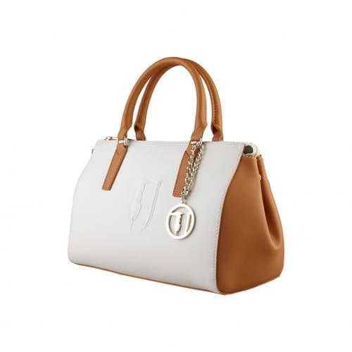 comprare on line 15b11 33ae6 Borsa Trussardi Jeans Bauletto Beige cuoio - 75B554105