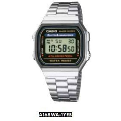 Orologio CASIO VINTAGE - A168WA-1YES