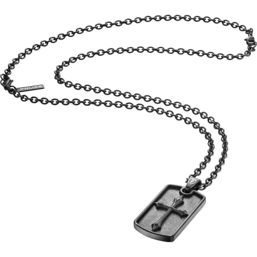 NECKLACE POLICE KNIGHTS - PJ.25872PSB/04