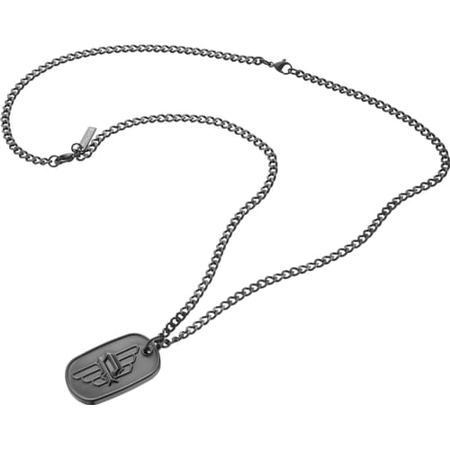 jewellery steel uk police necklace stainless co men amazon pendant dp