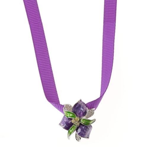 NECKLACE BLUESPIRIT FLOWER - P.62L910000300