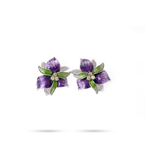 EARRINGS BLUESPIRIT FLOWER - P.62L901000300