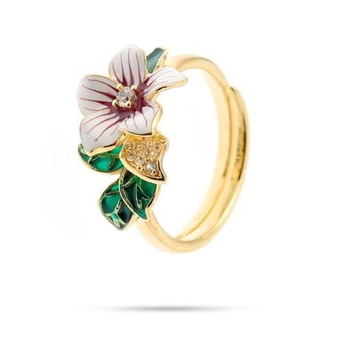RING BLUESPIRIT FLOWER - P.62L903000114