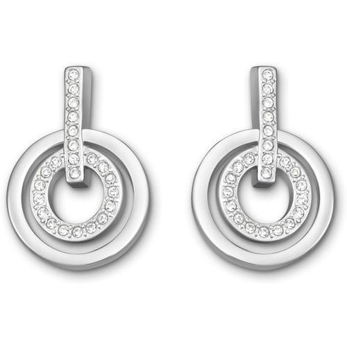 EARRINGS SWAROVSKI CIRCLE - 5007750