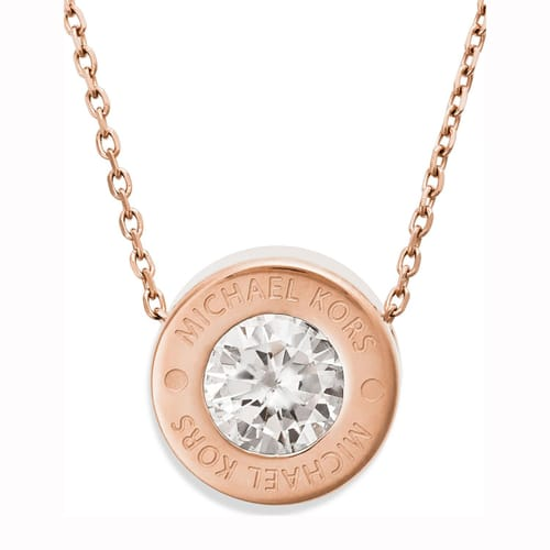pendant height cz wid p m necklace prod logo kors michael