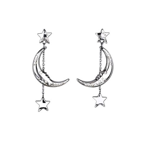 EARRINGS 2JEWELS MOON - 261115