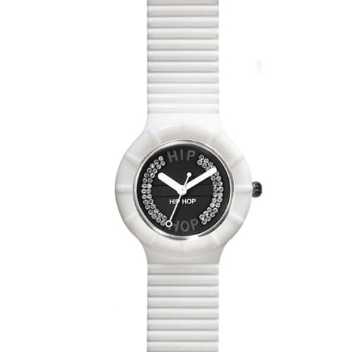 Orologio Hip Hop Crystals Absolute White