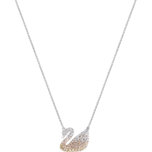 swarovski zirconia com set round solitaire white cut with amazon pendant dp cttw gold necklace