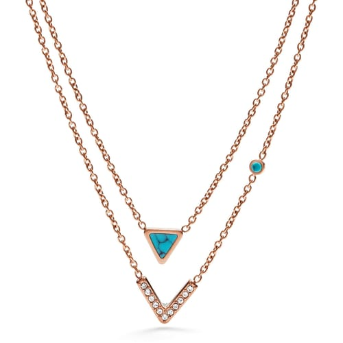 NECKLACE FOSSIL FASHION - JF02644791