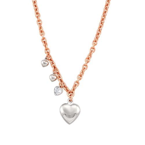 NECKLACE NOMINATION ROCK IN LOVE - 131806/011
