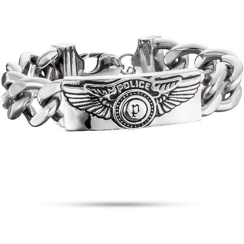 BRACCIALE POLICE FREEDOM - PJ.25725BSS/01-S