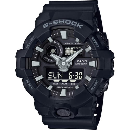 CASIO watch G-SHOCK - GA-700-1BER