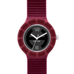 Orologio Hip Hop Velvet Touch Bordeaux