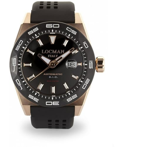 LOCMAN watch STEALTH 300MT - 0215V5-RKBK5NS2K