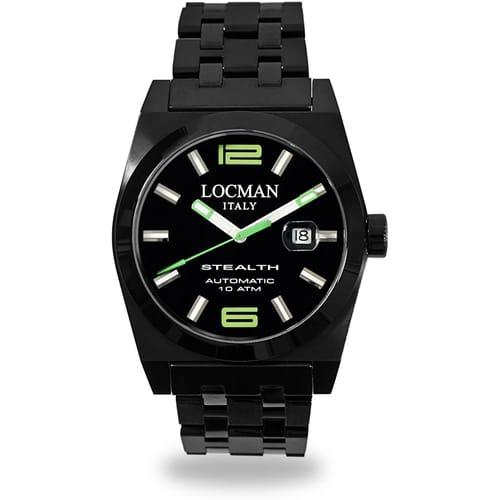 LOCMAN watch STEALTH - 0205BKBKNGR0BRK