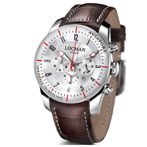 LOCMAN watch AVIATORE - 045000AVFKRAPST