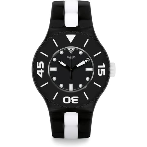 SWATCH watch TIME TO SWATCH - SUUB102