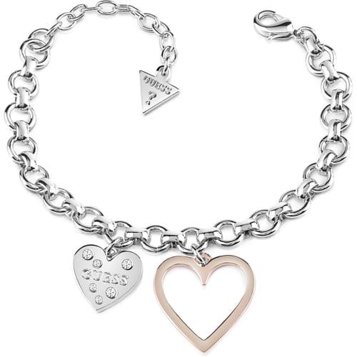 BRACCIALE GUESS HEART IN HEART - UBB84037-S