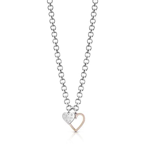 COLLANA GUESS HEART IN HEART - UBN84014