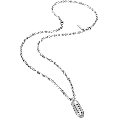 NECKLACE POLICE CAPSULE - PJ.26189PSS/01