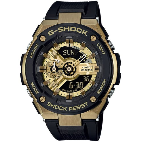 CASIO watch G-SHOCK - GST-400G-1A9ER