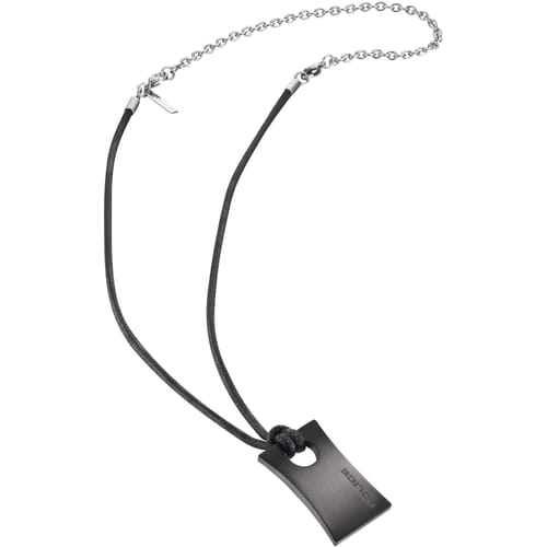 NECKLACE POLICE CARVER - PJ.25683PLB/03